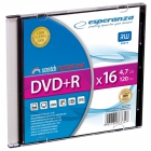 DVD+R ESPERANZA 4, 7GB X16 - SLIM 1