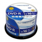 DVD- R ESPERANZA 4, 7GB X16 - CAKE BOX, 50