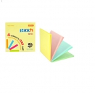 Notes samoprzylepny MAGIC PAD pastel mix STICK´N, 76X76mm