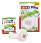 Taśma biurowa TESAfilm Invisible 33m x 19mm + Dyspenser Easy Cut 57414-00005