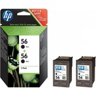 HP Tusz nr 56 C9502AE Black 2pack