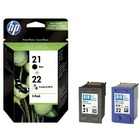 HP Tusz nr 21+22 SD367AE 2pack