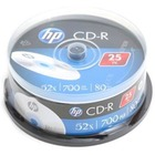 HP CD-R | 700MB | x52 | cake 25