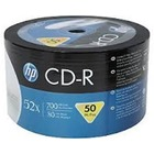 HP CD-R | 700MB | x52 | spindel 50 WHITE FF InkJet Printable 14223