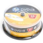 HP DVD+R | 4.7GB | x16 | cake 25