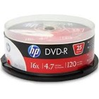 HP DVD-R | 4.7GB | x16 | cake 25