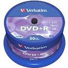 Dysk Verbatim DVD+R | 4.7GB | x16 | cakebox 50szt