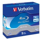 Verbatim BluRay BD-R Dual Layer | 50GB | x6 | 5szt