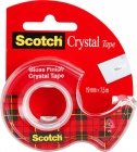 Taśma biurowa SCOTCH® Crystal Clear (6-1975), transparentna, 19mm, 7, 5m