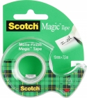 Taśma biurowa SCOTCH® Magic™ (890; 8-1975), matowa, z dyspenserem, 19mm, 7, 6m